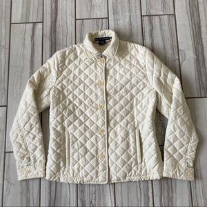 Ralph Lauren quilted insulated coat. EUC like new